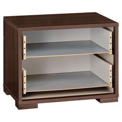 Modular Bedside Chest Frame, Walnut-Effect