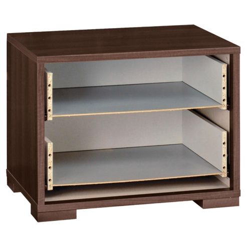 Adria Bedside Chest Frame, Walnut-Effect