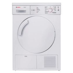 Bosch WTE84105GB Condenser Tumble Dryer, 7 kg Load, B Energy Rating. White