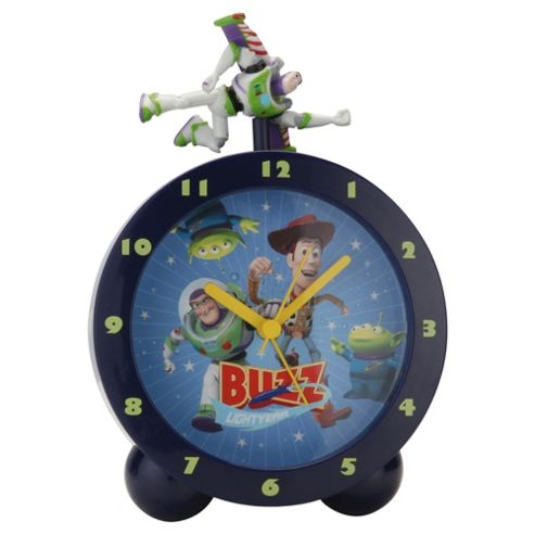 Toy Story Lights And Sounds Topper Alarm Clock