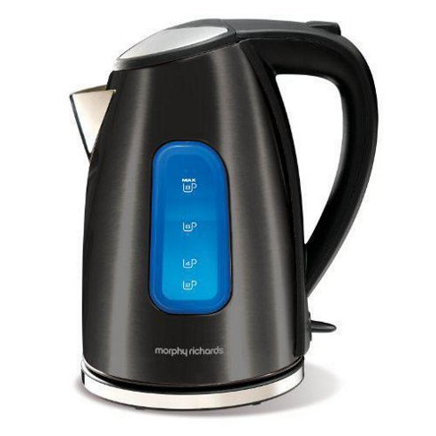 Morphy Richards 43833 1.7 litre Black Metallic Jug Kettle