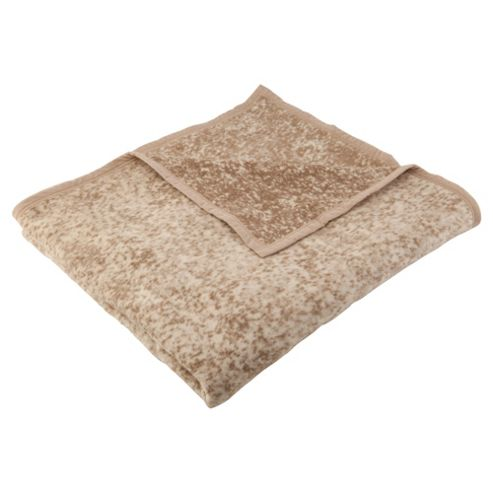 Biederlack Thermosoft Mottled Throw 140X180Cm, Natural