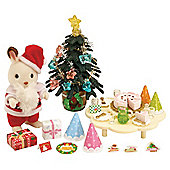 Sylvanian Families Father Christmas & Tree Set
