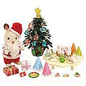 Sylvanian Families Father Christmas & Tree Set