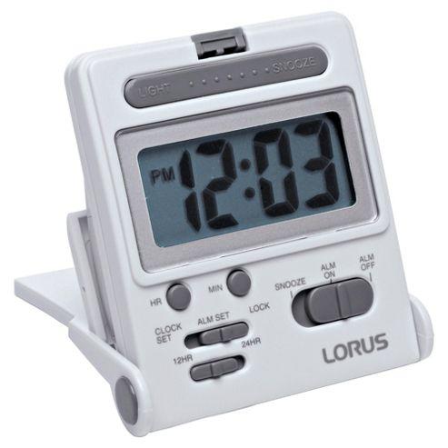 Lorus Lcd Travel Alarm Clock