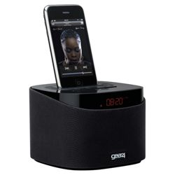 Gear4 AlarmDock Reveal PG487 Clock Radio with iPod/iPhone Dock