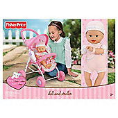 Fisher-Price Deluxe Playset - Pram, Travel bag & seat