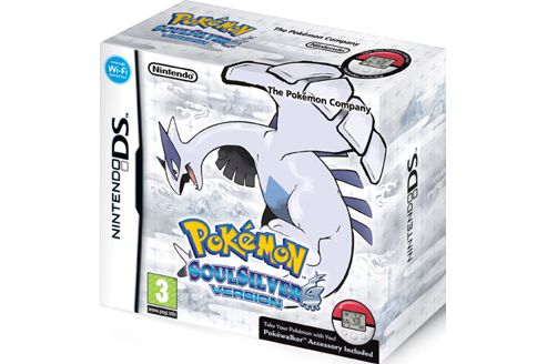 Pokemon - Soulsilver Version Includes Pokewalker