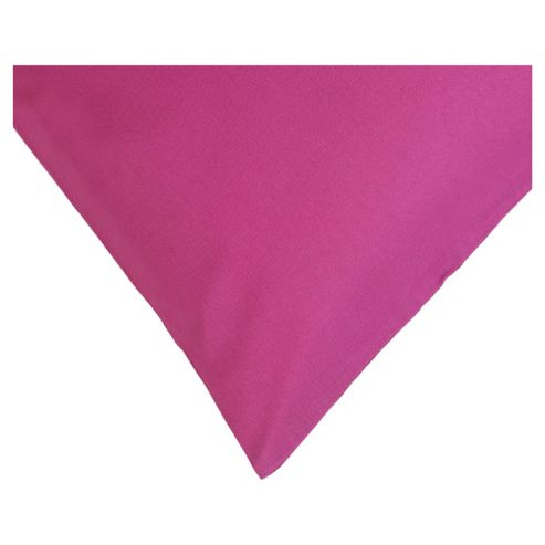 Tesco Twin Pack Pillowcase - Magenta