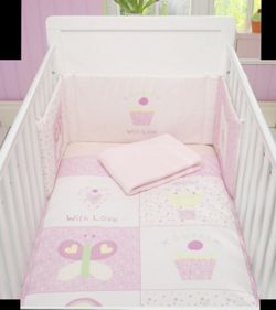 Lollipop Lane Sweet Little Dreams Four Piece Bedding Bale