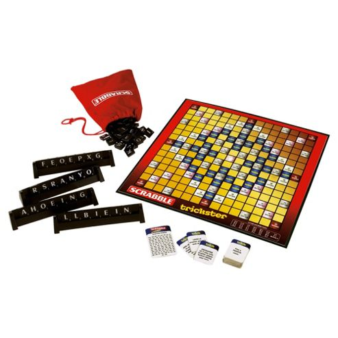 Scrabble Trickster Board Game