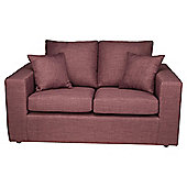 Maison Small Fabric Sofa Aubergine