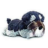 Keel Toys 35cm Grey Schnauzer Dog Plush Soft Toy
