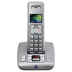 BT SYNERGY 6500 SINGLE Silver Cordless Phone