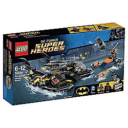 LEGO DC Comics Super Heroes Batman The Batboat Harbour Pursuit 76034