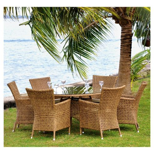 Alexander Rose Manilla 6 Seater Dining Set