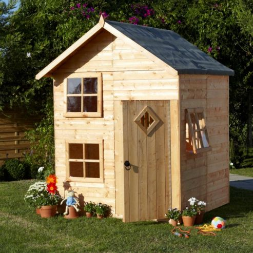 Finewood Croft Wooden Playhouse, 5ft x 5.5ft