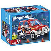 Playmobil 4822 Fire Chief's Car