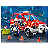 Playmobil 4822 Fire Chief's Car