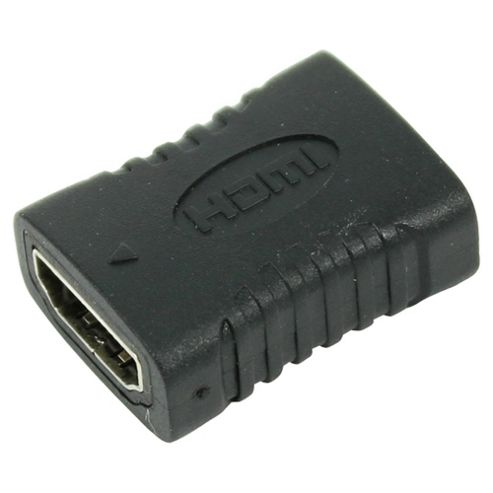 Tesco HDMI Coupler for Video and Audio, Black