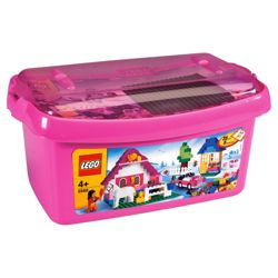 LEGO Bricks & More Large Pink Brick Box 5560
