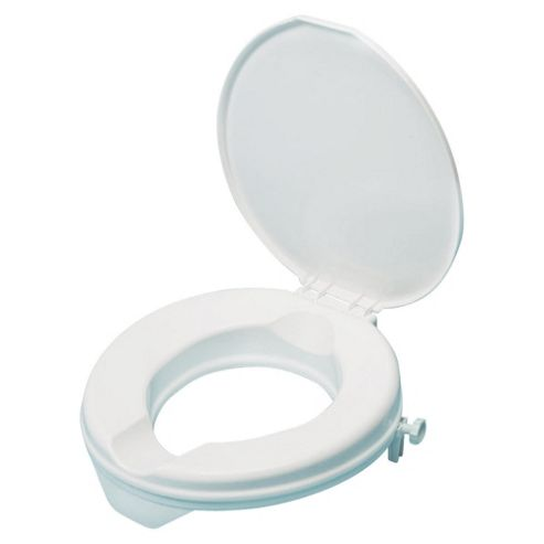 adaptable™ Raised Toilet Seat with Lid, 5cm