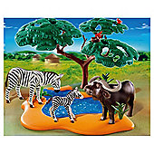 Playmobil Buffalo with Zebras