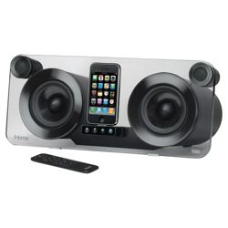 iHome iP1E High Fidelity Speaker System for iPhone/iPod with Bongiovi Acoustics DPS