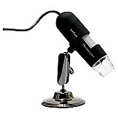 Veho Discovery Deluxe USB Microscope with x20 - x400 Magnification, Adjustable LED, Measurement Software