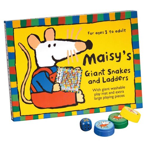 Maisy's Giant Snakes & Ladders