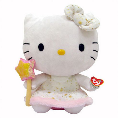 Hello Kitty Large Beanie Baby Soft Toy, Assorted One Supplied