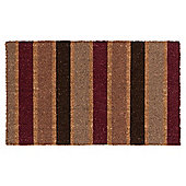 Stripe Coir Mat outdoor
