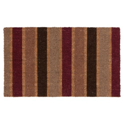 Stripe Coir Mat Outdoor 75x45cm