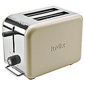 Kenwood 77-157 Pf Kmix 2 Slice Toaster In Almond TTM022A