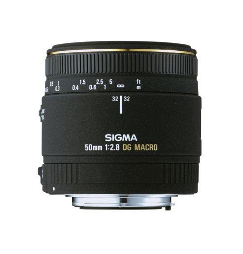 Sigma 50mm f2.8 EX DG Macro Canon Fit Lens