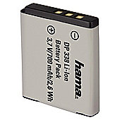 Hama Li-Ion Battery DP 338 for Fuji, Pentax, Kodak (Equivalent to Fuji NP-50, Pentax D-Li68, Kodak KLIC 7004 battery)