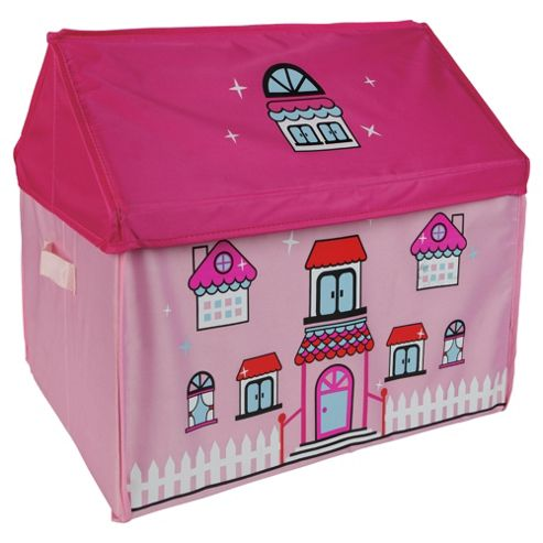 buy tesco kids storage box dolls house from our storage. Black Bedroom Furniture Sets. Home Design Ideas