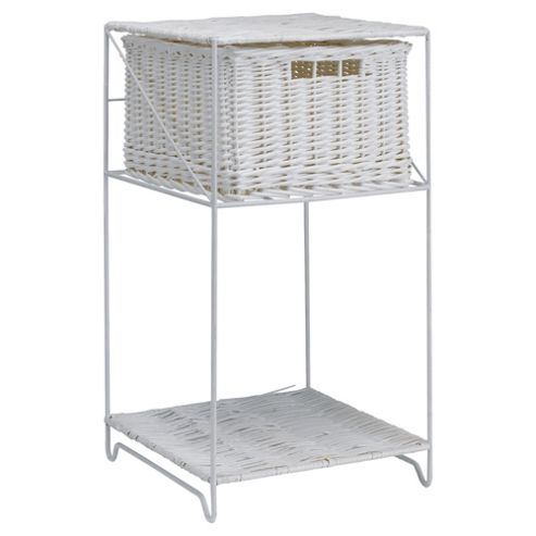 Tesco Wicker 1-Drawer Unit