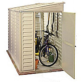 Duramax 4 x 8 Sidemate Plastic Shed