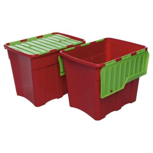 Whatmore 80L Croc box, 2 pack