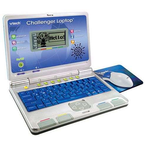 VTech Challenger Laptop Blue
