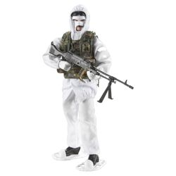 H.M Armed Forces Arctic Skidoo & Figure
