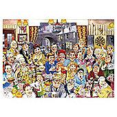 Wasgij Coronation Street 50th Anniversary Destiny 2 x 1000 Piece Jigsaw Puzzle