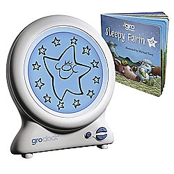 GroClock The Best Child Sleep Trainer and Sleepy Farm Book