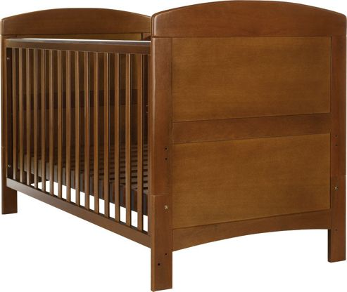 Obaby Grace Cot Bed, Walnut