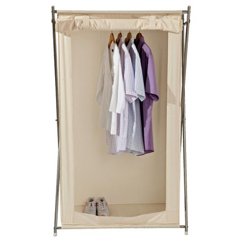 Canvas single wardrobe