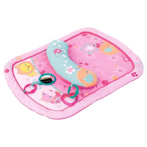 Bright Starts Little Blooms Prop & Baby Playmat