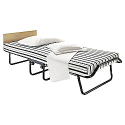 Jay-Be Single Deluxe Folding Guest Bed with Airflow Fibre Mattress