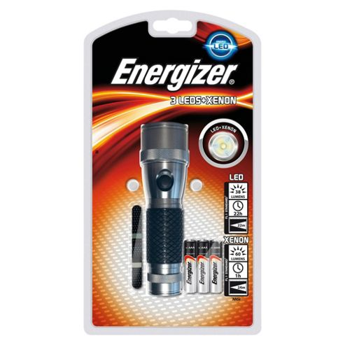 Energizer 3LED Xenon torch