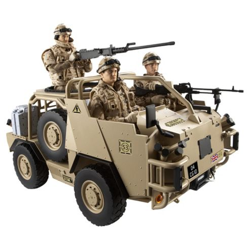 H.M Armed Forces Tri Forces Jackal Vehicle